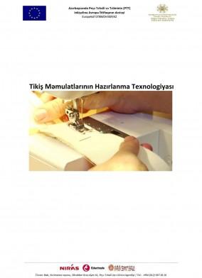 Tikiş məmulatlarının hazırlanma texnologiyası